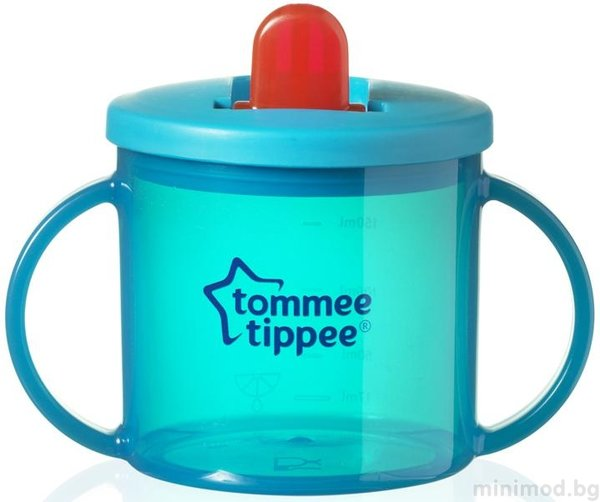 Tommee Tippee Чаша  с дръжки Essential Basics First Cup 43111010